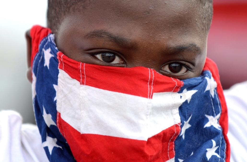 epa. Zavargások az Egyesült Államokban, Michael Brown, St. Louis, Ferguson városrész 2014.08.19.