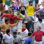 Vérengzés a San Fermin fesztiválon (brutális képek)