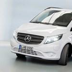 Akár 420 kilométer tisztán villannyal: itt az új Mercedes Vito