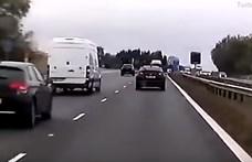 Továbbra is nehézkes a közlekedés az M0-son, fél órával nő a menetidő