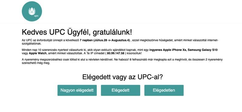 A UPC is megerősítette: csalók vadásznak a netezők bankkártyáinak adataira