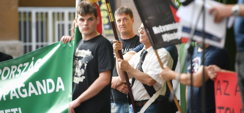 Manifestación anti-gay en Budapest - en imágenes