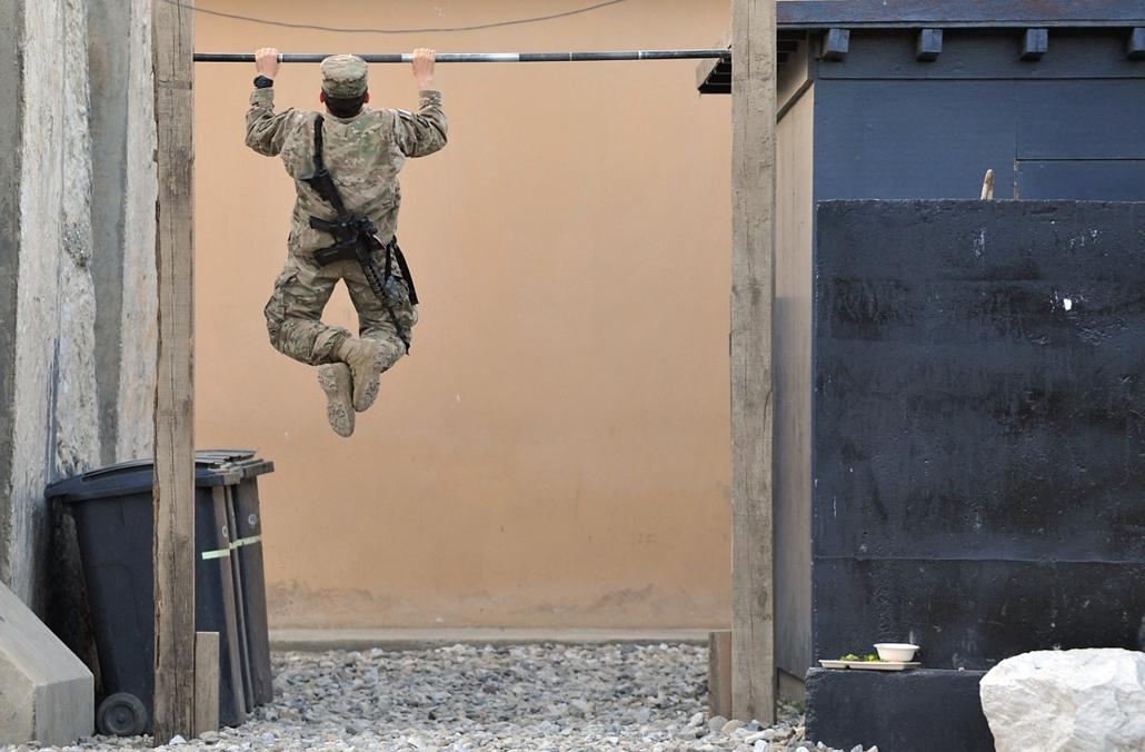 Amerikai katona Afganisztánban
