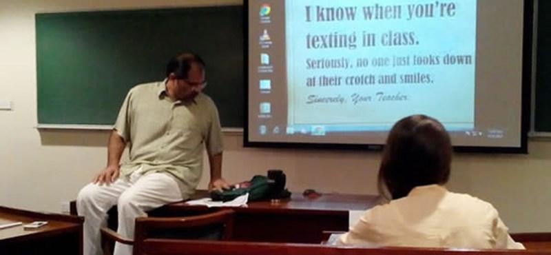 Ezeken a tanárokon nevet az internet - a kreativitás határtalan