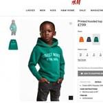 """A H&M belátta, hogy nem volt jó ötlet egy fekete kisfiúra """"a dzsungel legmenőbb majma"""" pólót adni"""