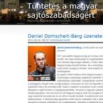 A WikiLeaks ex-szóvivője a magyar médiatörvényről ír