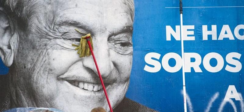 Létezik, hogy ma senki nem mondta ki, hogy Soros?