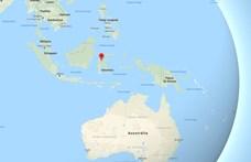 Nagy erejű földrengés rázta meg Indonéziát