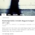 Magyar közösségi média - 2011