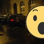 Fotó: a nap parkolási győztese ez a budapesti tanulóautós