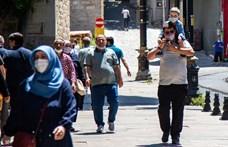 Franciaországban, Törökországban és Görögországban is nőtt az új fertőzöttek száma