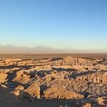 500 év után először esett az eső az Atacama sivatag legszárazabb pontján