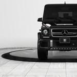 Maffiózok és politikusok álma: itt a legújabb páncélozott Mercedes kocka-terepjáró