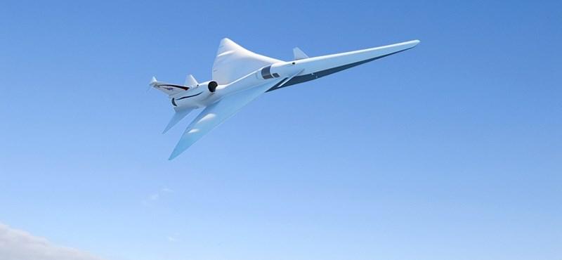 Különleges repülőgépet rendelt a NASA, csak csattanni fog, amikor átlépi a hangsebességet
