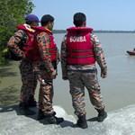 Menekültekkel teli hajó süllyedt el Malajziánál