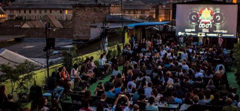 Újabb izgalmas tetőmoziprogram indul Budapesten