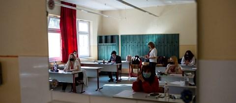 Jó témákat kaptak az íráskészség részben a diákok a szaktanár szerint