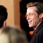 Brad Pitt nem tud leállni a szingli viccekkel