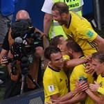 Kamu tűzriadó zaklatta fel a svédeket a nagy meccsük reggelén