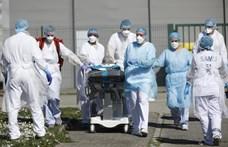 Százával költöztetik a betegeket a túlzsúfolt francia kórházakból