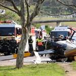 Képek: az egyetem épülete mellett zuhant le egy helikopter Fokvárosban