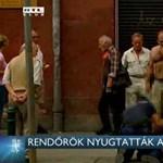 Videó: Ismét meztelenül őrjöngött egy férfi Budapesten