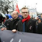 Országos sztrájkot jelentett be Pukli István a Kossuth téren