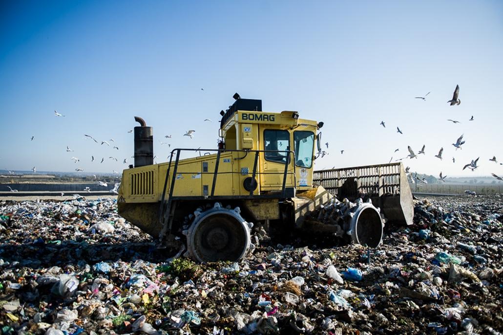 Pusztazámor hulladéklerakó, szeméttelep