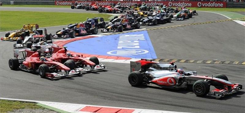 Forma-1: Alonso nyerte az Olasz Nagydíjat