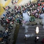 Fotók: újra lőnek Egerben