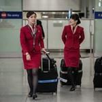 Túl szexi lett a stewardessek ruhája – fotó