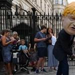 Cuki kutyával és plakátkampánnyal igyekszik úrrá lenni a Brexit-káoszon Boris Johnson