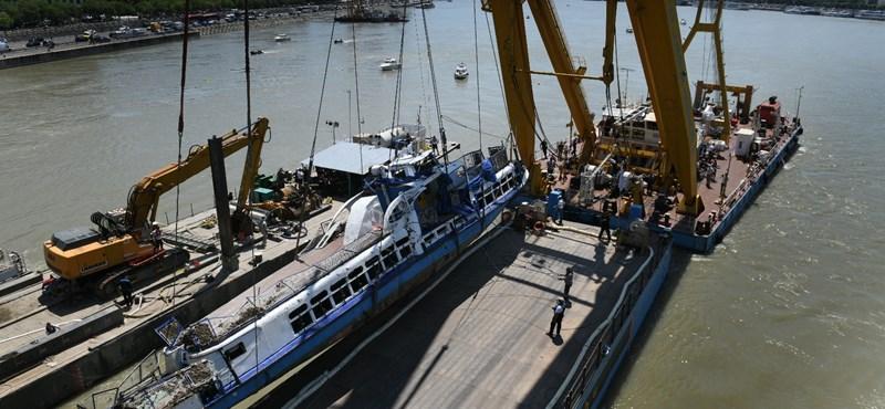 Rendszerbe állítanák a sürgősségi hajót, amit a Hableány elsüllyedésekor már bevetettek