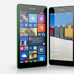 Itt a legújabb Lumia, de már nem Nokia