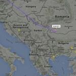 Radarképek: így terelik el az utasszállító repülőket a török légtértől