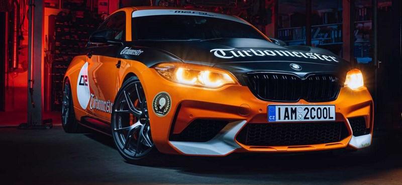 Szuper izgalmas BMW lett az M2 CSL Turbomeister Edition