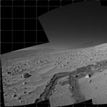 Az óriáskráterhez közeledik az Opportunity marsjáró