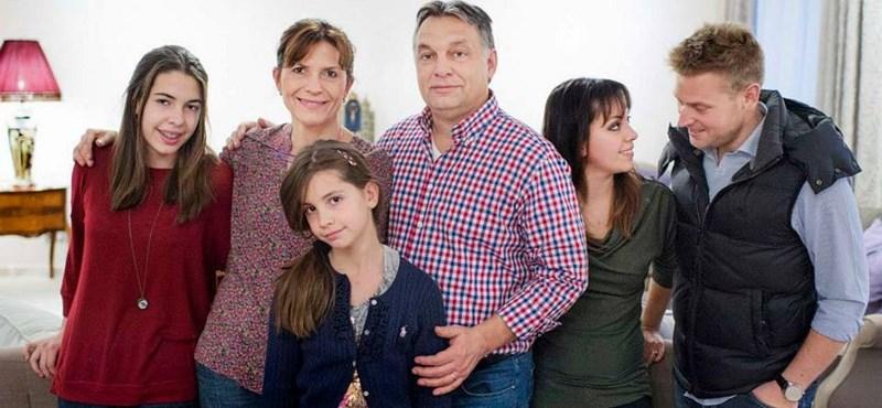 Orbán a családjával ment Washingtonba