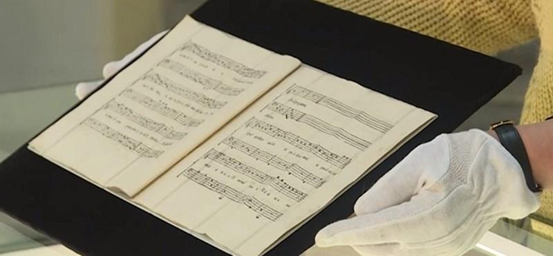 Elveszett Mozart-darabra bukkantak Prágában, így hangzik – videó