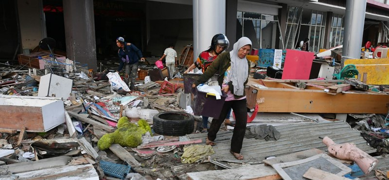 Két újabb földrengés volt Indonéziában
