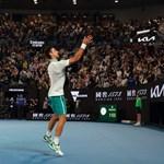 """""""Gusztustalan"""": kifütyülték a vakcinát az Australian Open díjátadóján"""