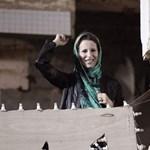 Kadhafi lánya nyilvános beszédben kelt apja védelmére