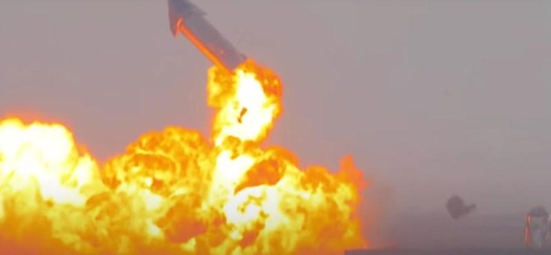 Elárulta Elon Musk, miért robbant fel újra a SpaceX Csillaghajója