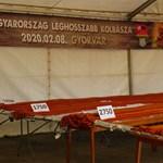 Megvan Magyarország leghosszabb kolbásza
