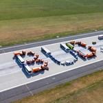 Ma 70 éves a ferihegyi repülőtér, látványos élőképpel ünnepelték
