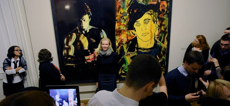 Sylvester Stallone festményeiből nyílt kiállítás - fotók