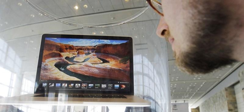 Milyen állásból lesz hamarabb Macbook Pro?