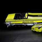 Itt az elektromos sirályszárnyú Mercedes vízi változata - fotó