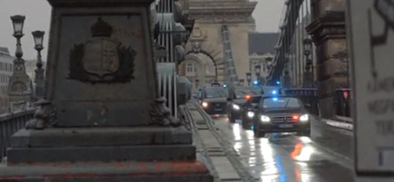 Kicsit felfordul a főváros közlekedése Putyin elnök távozásakor