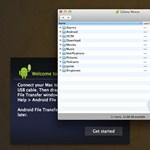 Fájlok mozgatása Android 3-as vagy 4-es eszközök és Macek között, teljes kényelemben